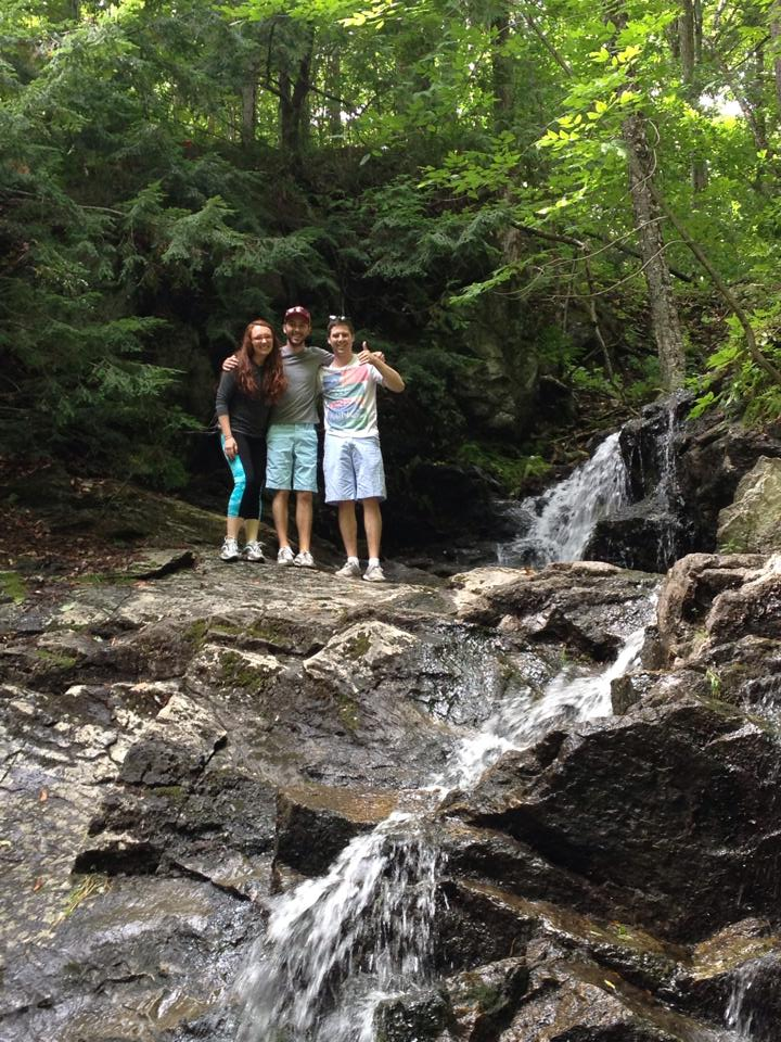 Climbing waterfalls with the Lockharts
