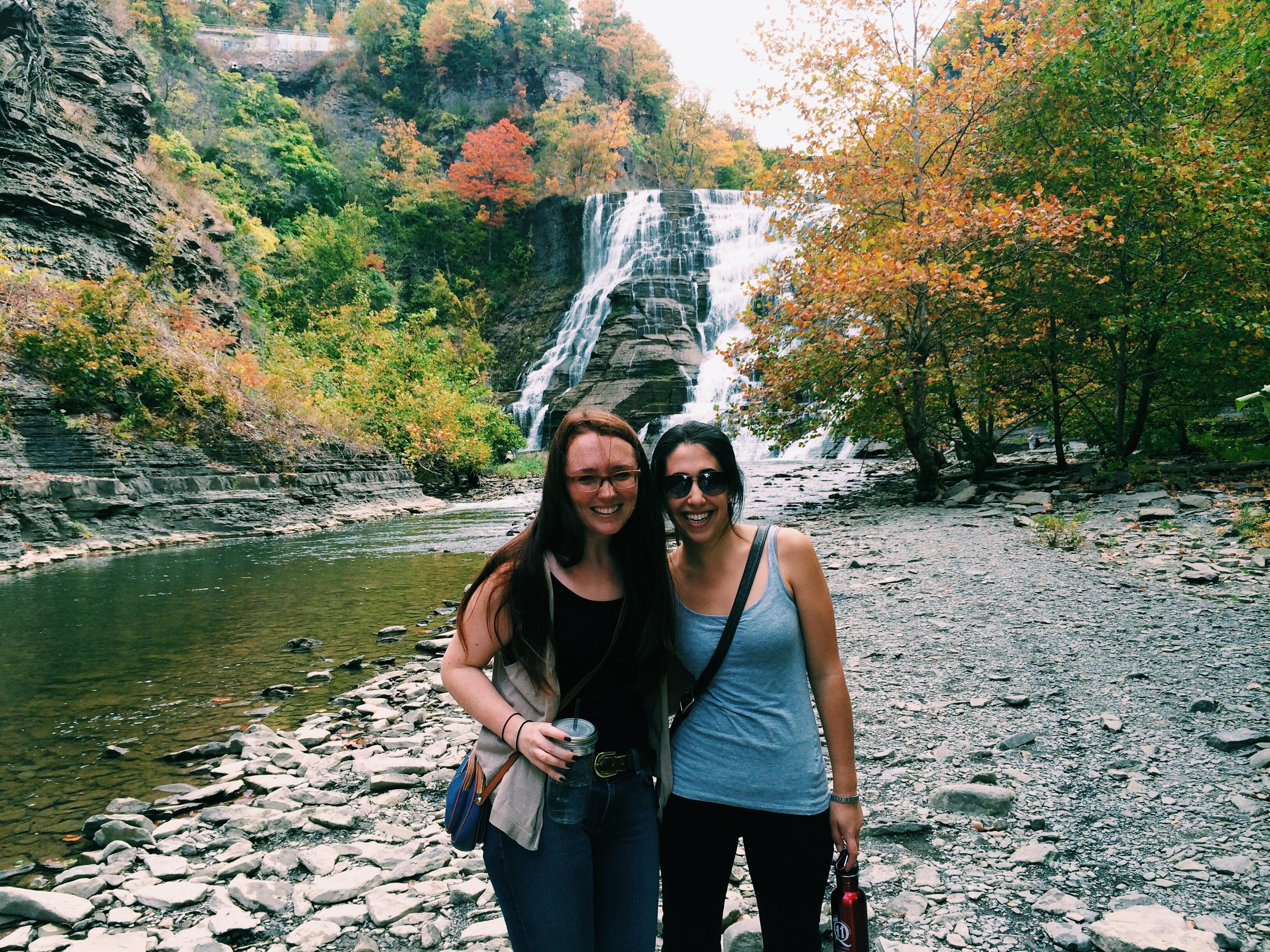 Exploring Ithaca with Rachel