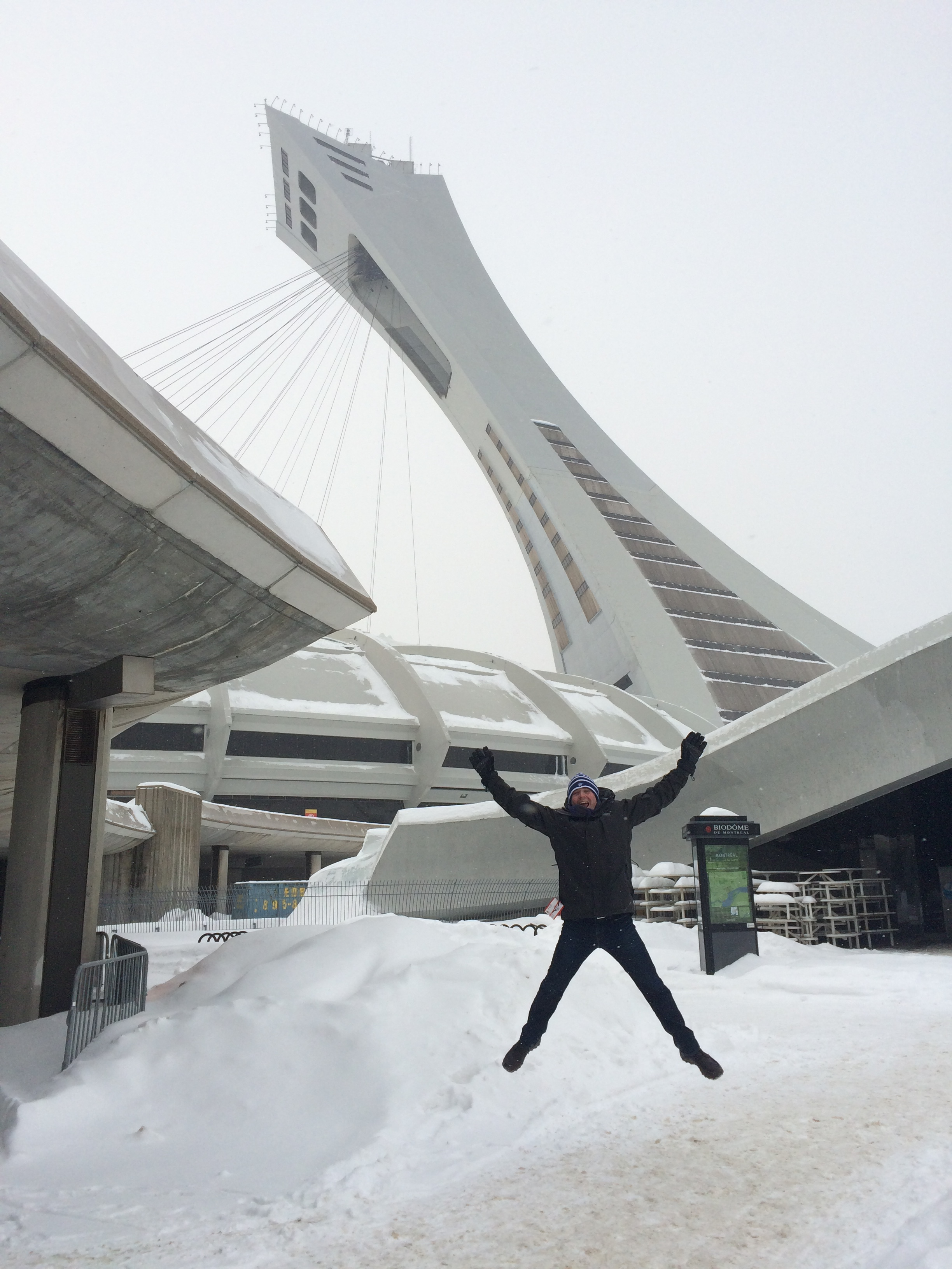 Andrew and the stade olympique