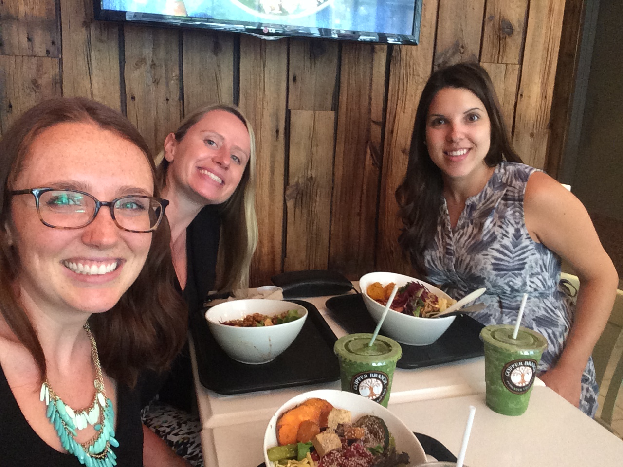 Lunch with my work ladies