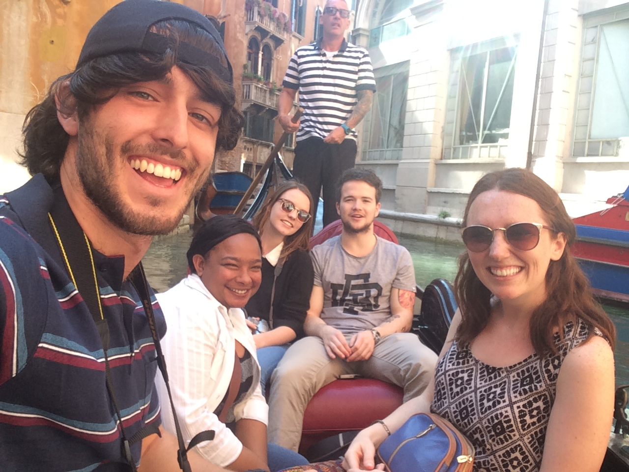 Selfie on a gondola