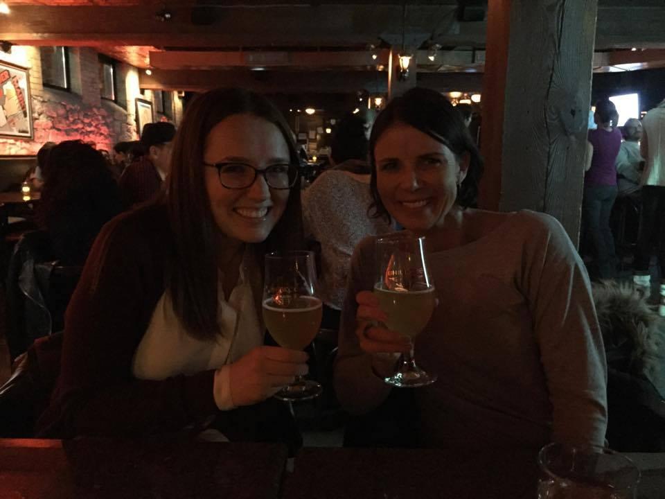 Beers with Irina & Halldóra