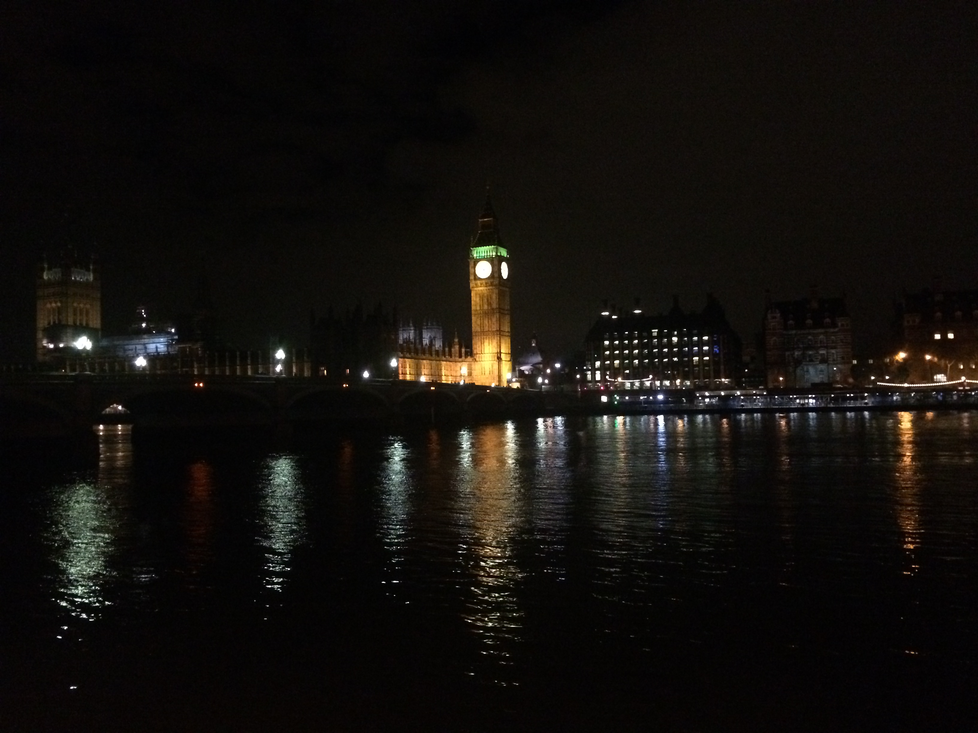 London with no sleep