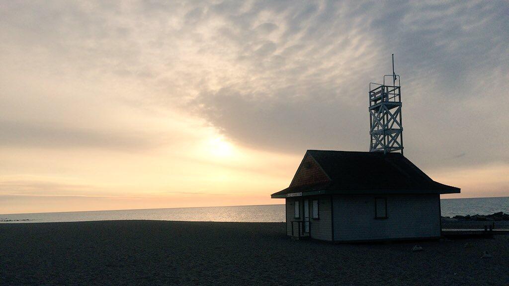 Morning on the boardwalk