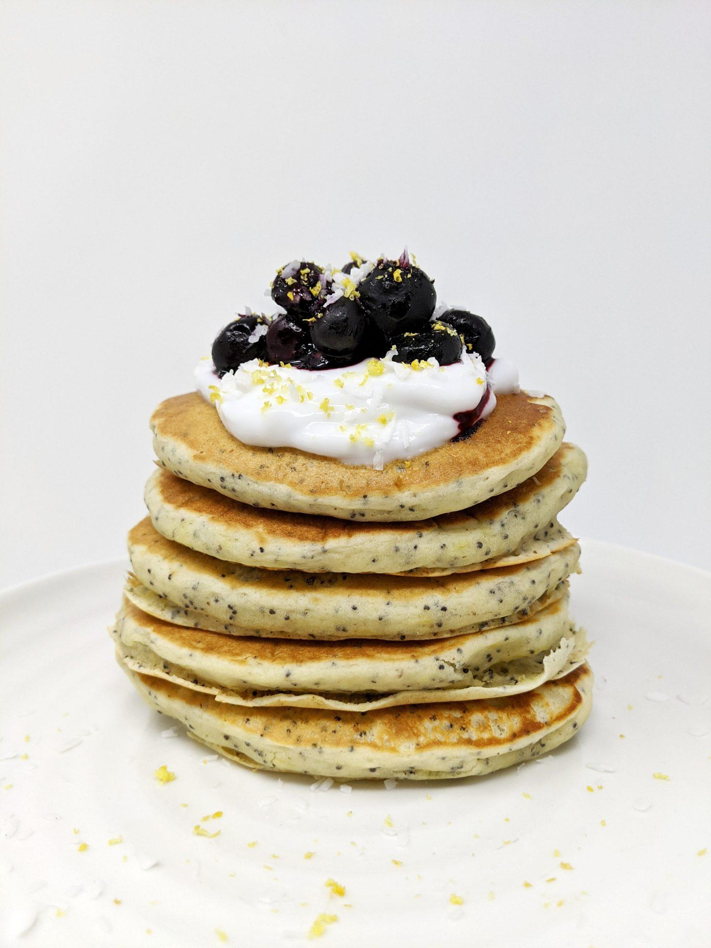 Lemon Poppy Seed Pancake